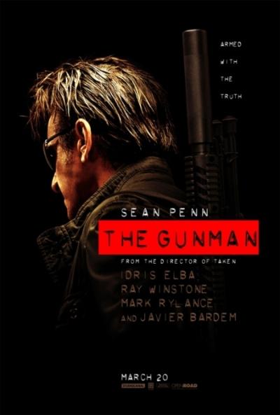 دانلود فیلم هفت تیرکش The Gunman 2015