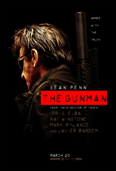 the gunman 2015 دانلود فیلم هفت تیرکش The Gunman 2015