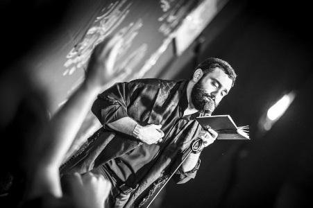 مداحی کربلایی جواد مقدم محرم ۹۴ هیئت غریب مدینه امیرکلا