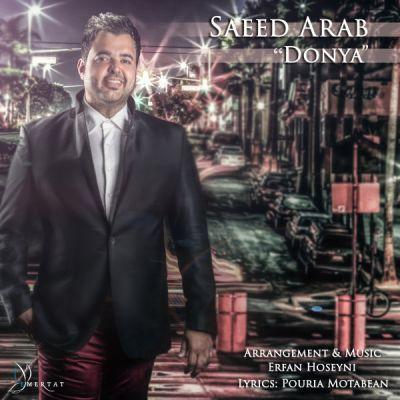 دانلود آهنگ جدید سعید عرب بنام دنیا