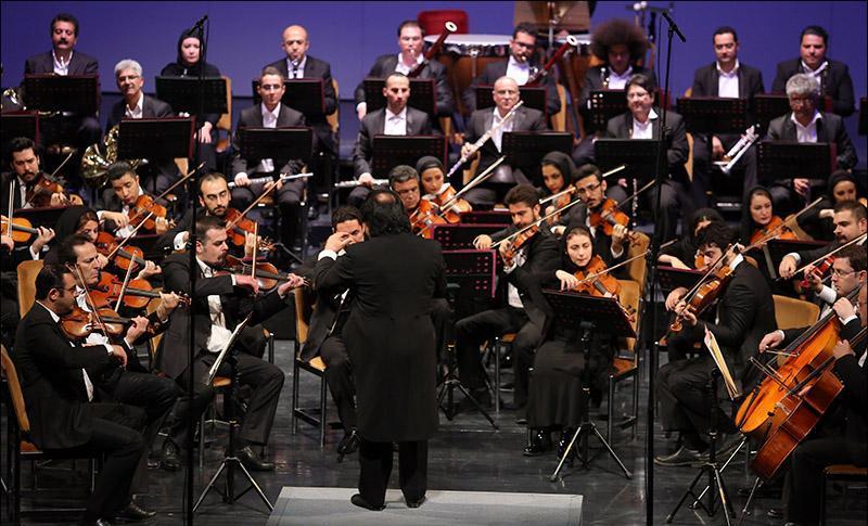 گزارش و تصاویر اولین اجرای ارکستر در سال 94