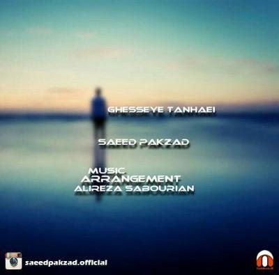 دانلود آهنگ جدید سعید پاکزاد بنام قصه ی تنهایی
