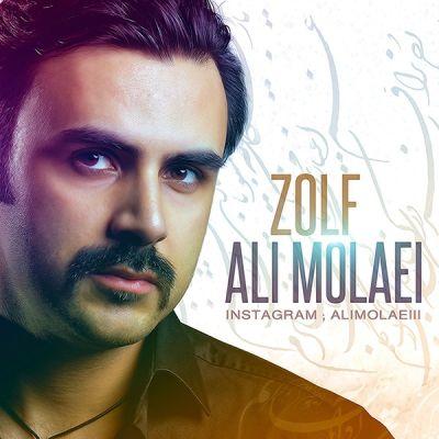 دانلود آهنگ جدید علی مولایی بنام زلف