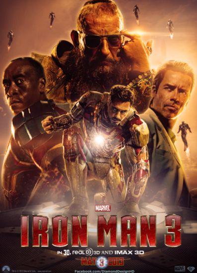 دانلود دوبله فارسی فیلم مرد آهنی 3 Iron Man 3 2013