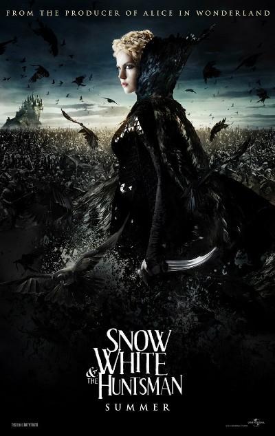The Evil Queen of Snow White and the Huntsman 2012 دانلود دوبله فارسی فیلم سفید برفی و شکارچی