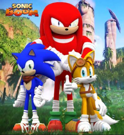 دانلود انیمیشن سریالی سونیک فصل یک Sonic Boom 2014