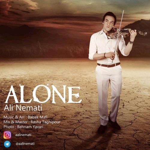 دانلود آهنگ جدید علی نعمتی بنام تنهایی