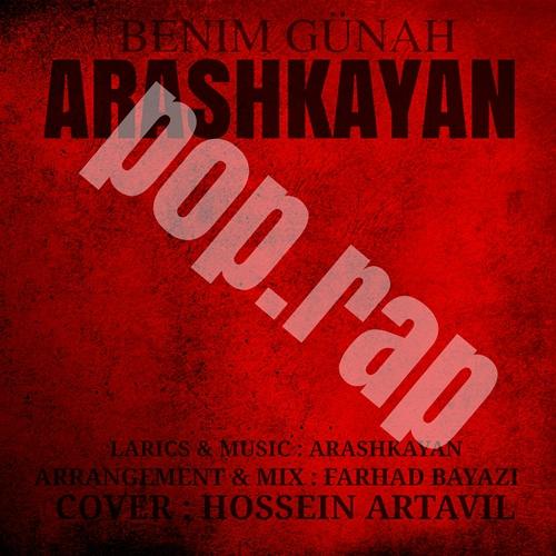 دانلود آهنگ جدید آرش کایان بنام Benim Gunah