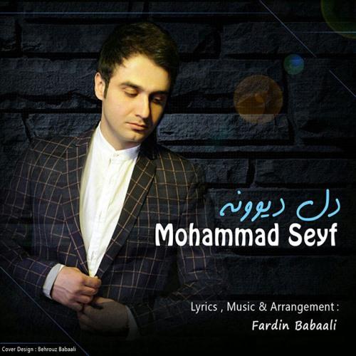 دانلود آهنگ جدید محمد سیف بنام دل دیوونه