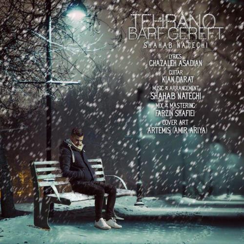 دانلود آهنگ جدید شهاب ناطقی بنام تهرانو برف گرفت