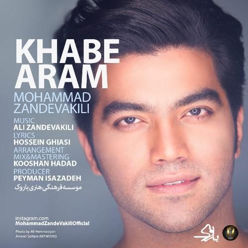 دانلود آهنگ جدید محمد زند وکیلی بنام خواب آرام با بالاترین کیفیت