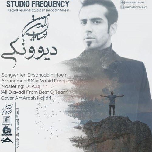 دانلود آهنگ جدید احسان الدین معین بنام دیوونگی