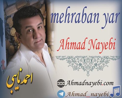 دانلود آهنگ جدید احمد نایبی بنام مهربان یار