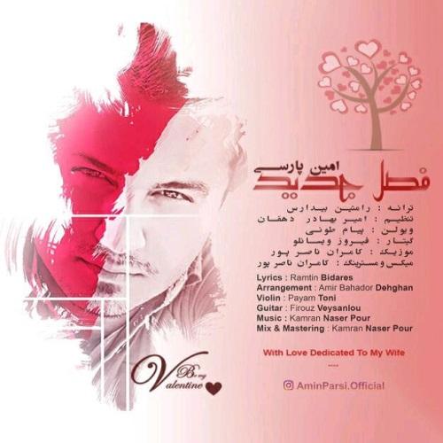 دانلود آهنگ جدید امین پارسی بنام فصل جدید