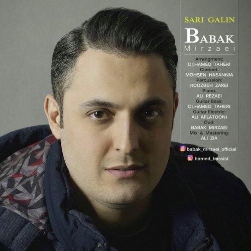 دانلود آهنگ جدید بابک میرزایی بنام ساری گلین