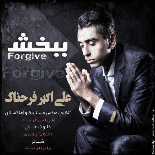 دانلود آهنگ جدید علی اکبر فرحناک بنام ببخش