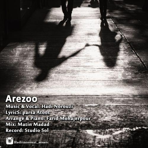 دانلود آهنگ جدید هادی نوروزی بنام آرزو