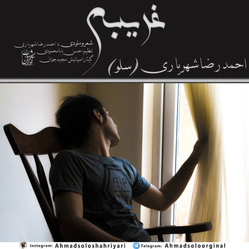 دانلود آهنگ جدید احمدرضا شهریاری بنام غریبم