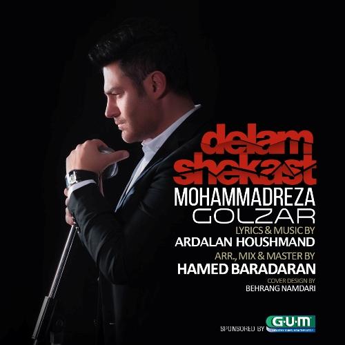 دانلود آهنگ جدید محمدرضا گلزار بنام دلم شکست