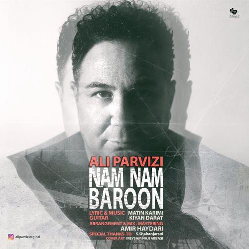 دانلود آهنگ جدید علی پرویزی بنام نم نم بارون
