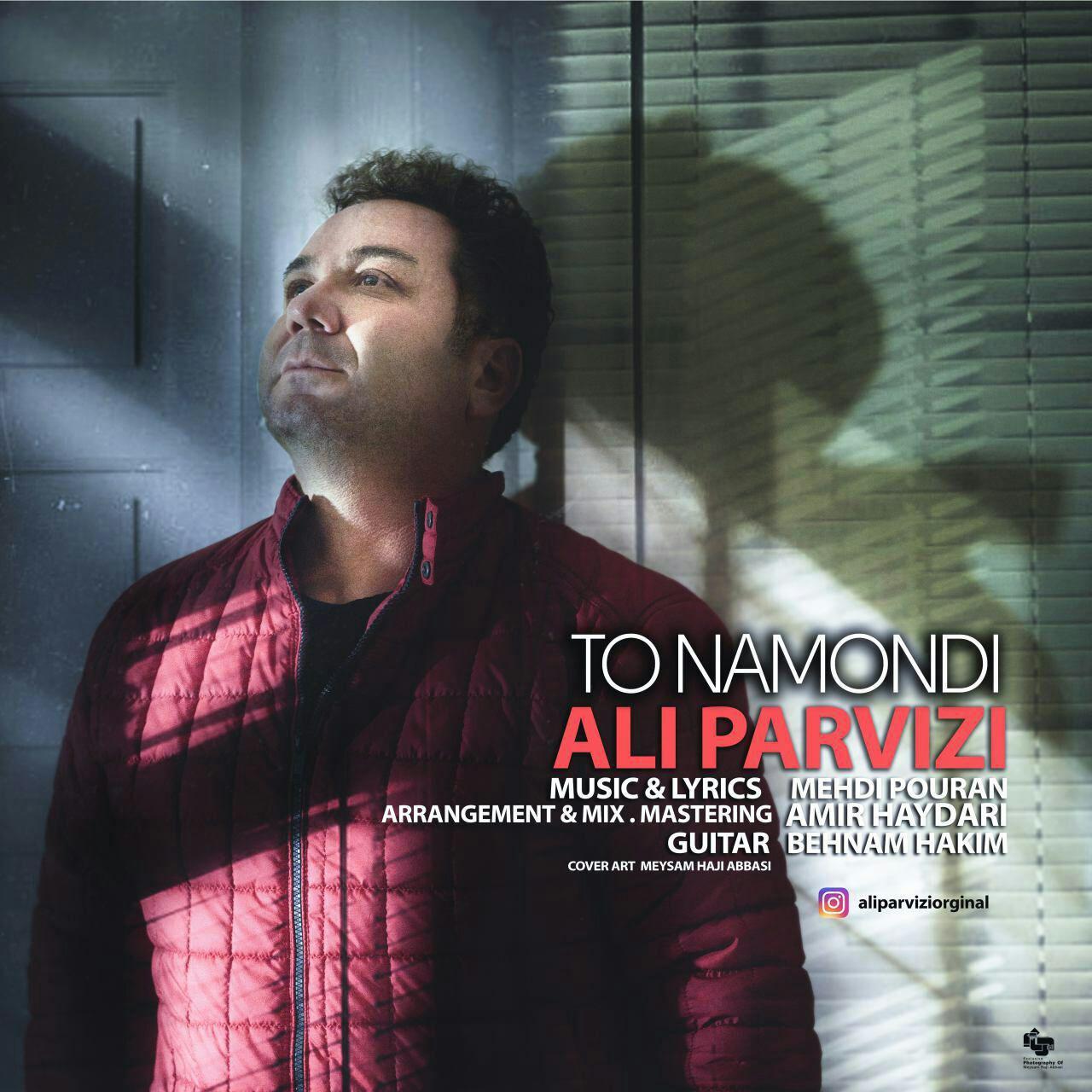 دانلود آهنگ جدید علی پرویزی بنام تو نموندی