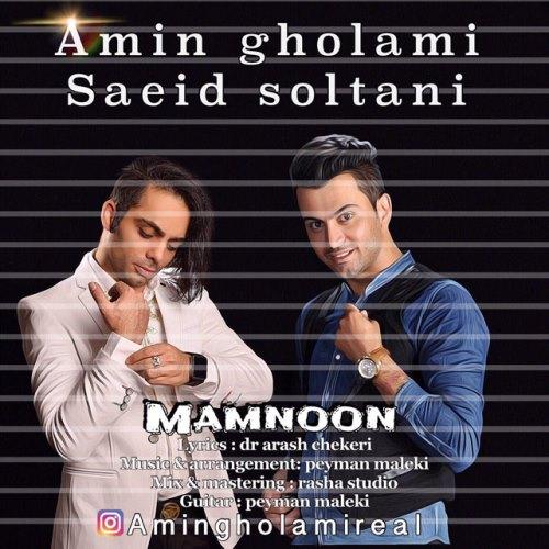 دانلود آهنگ جدید امین غلامی و سعید سلطانی بنام ممنون