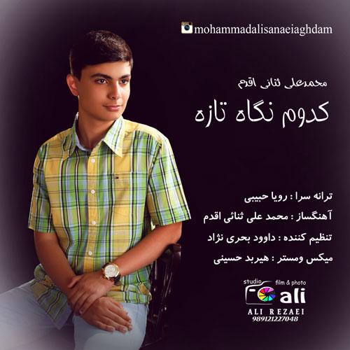دانلود آهنگ جدید محمد علی ثنائی اقدم بنام کدوم نگاه تازه