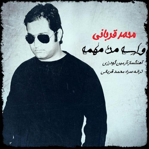 دانلود آهنگ جدید محمد قربانی بنام واسه من مهمه