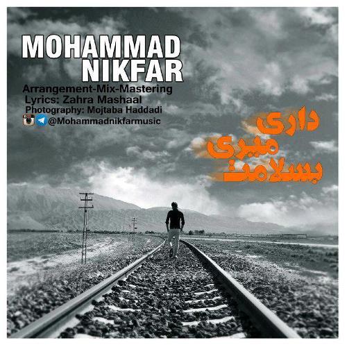 دانلود آهنگ جدید محمد نیکفر بنام داری میری به سلامت