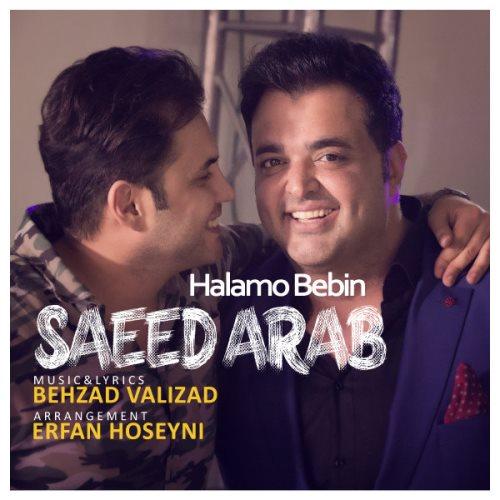 دانلود آهنگ جدید سعید عرب بنام حالم و ببین