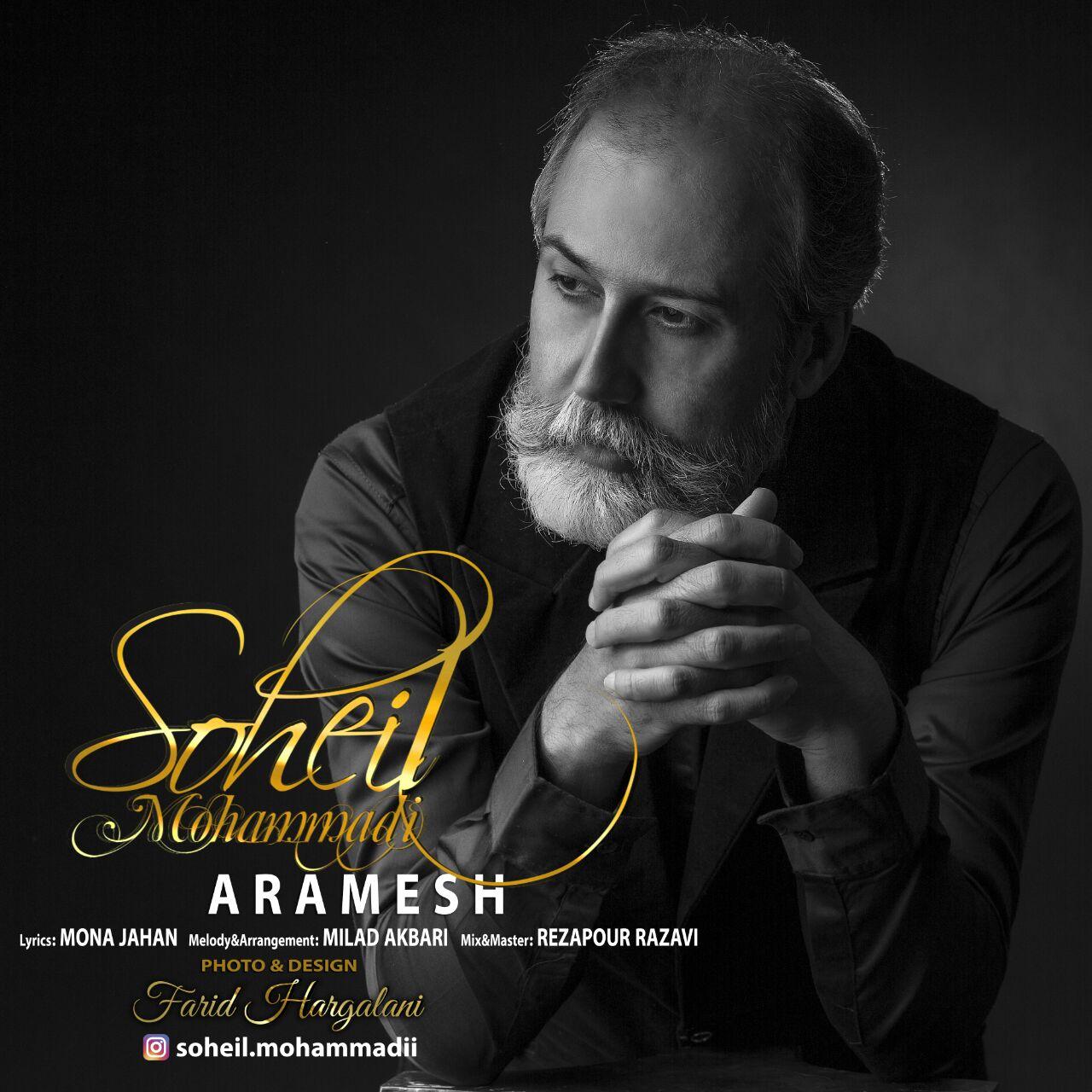 دانلود آهنگ جدید سهیل محمدی بنام آرامش