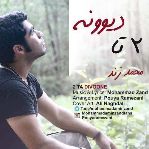 دانلود آهنگ جدید محمد زند بنام ۲تا دیوونه