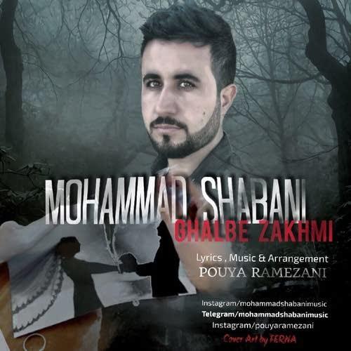دانلود آهنگ جدید محمد شعبانی بنام قلب زخمی
