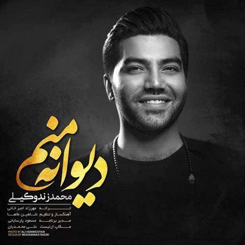 دانلود آهنگ جدید محمد زند وکیلی بنام دیوانه منم