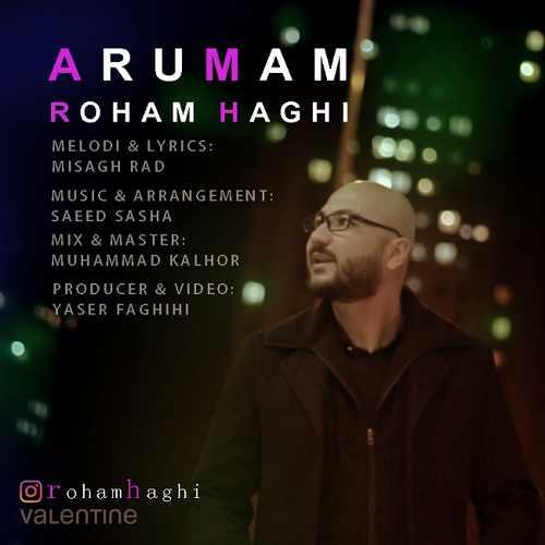 دانلود آهنگ جدید رهام حقی بنام آرومم