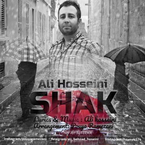 دانلود آهنگ جدید علی حسینی بنام شک