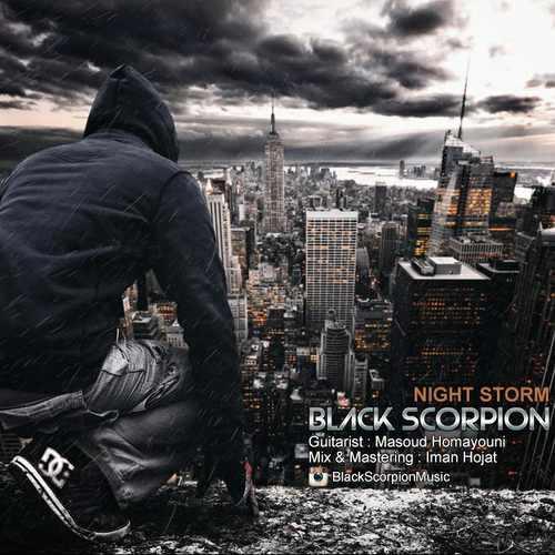 دانلود آهنگ جدید بی کلام Black Scorpion بنام Night Storm (Trance Rock)