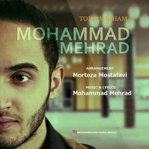 دانلود آهنگ جدید محمد مهراد بنام تورو میخوام
