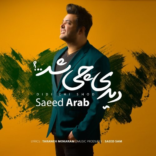 دانلود آهنگ جدید سعید عرب بنام دیدی چی شد