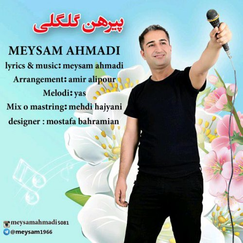 دانلود آهنگ جدید میثم احمدی بنام پیرهن گل گلی