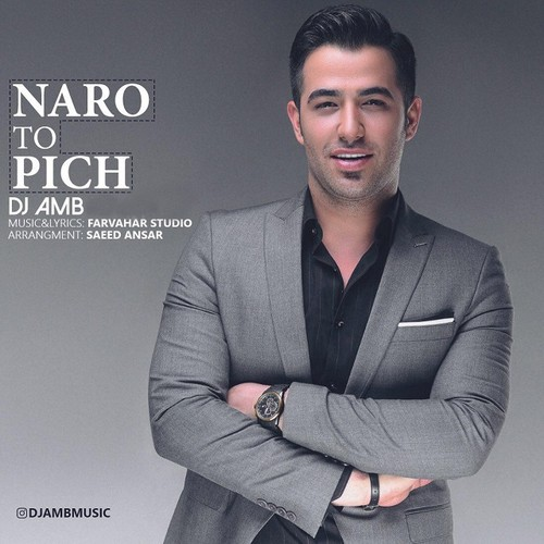 دانلود آهنگ جدید DJ AMB بنام نرو تو پیچ
