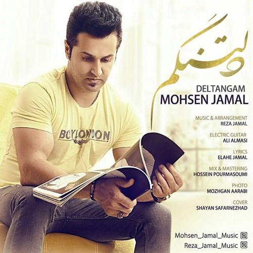 دانلود آهنگ جدید و زیبای محسن جمال بنام دلتنگم