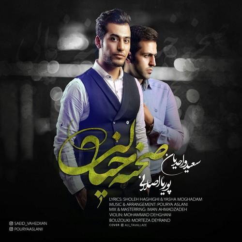 دانلود آهنگ جدید پوریا اصلانی و سعید واحدیان بنام صحنه خیالی