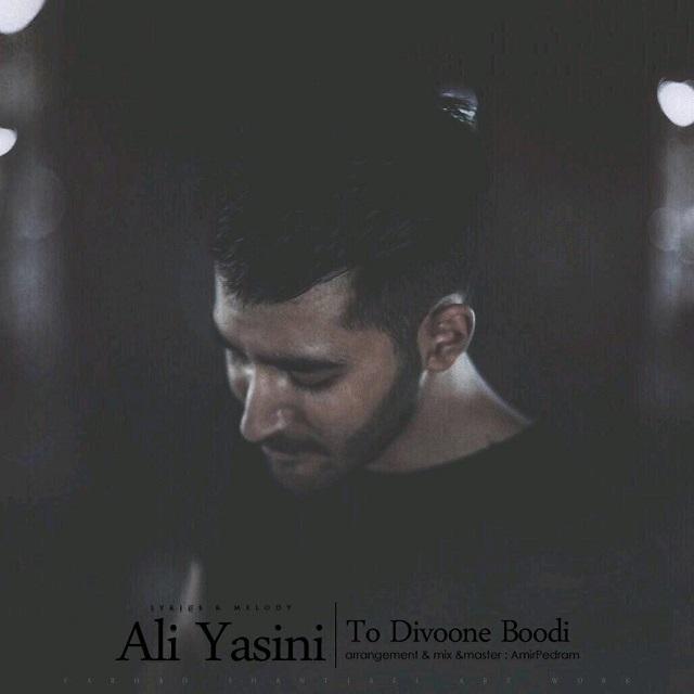 دانلود آهنگ جدید علی یاسینی بنام تو دیوونه بودی