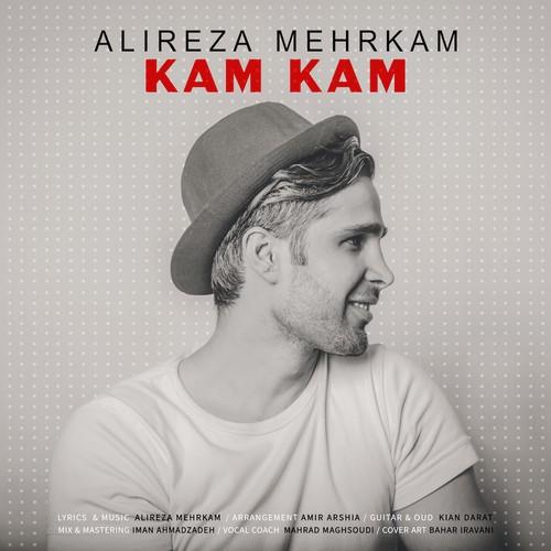 دانلود آهنگ جدید علیرضا مهرکام بنام کم کم
