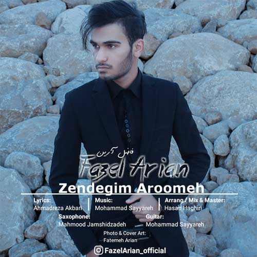 دانلود آهنگ جدید فاضل آرین بنام زندگیم آرومه