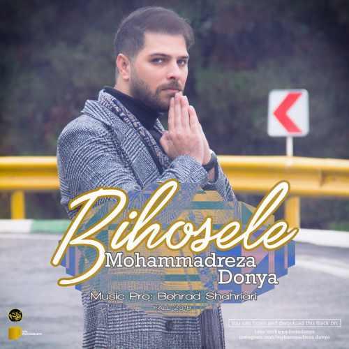 دانلود آهنگ جدید محمدرضا دنیا بنام بی حوصله