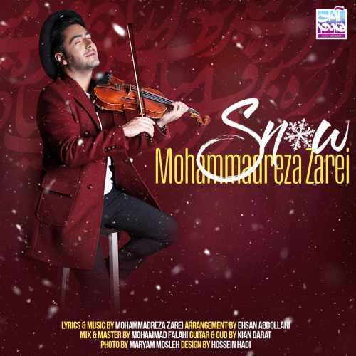 دانلود آهنگ جدید محمدرضا زارعی بنام برف
