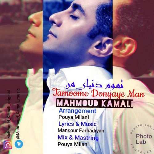 دانلود آهنگ جدید محمود کمالی بنام تموم دنیای من