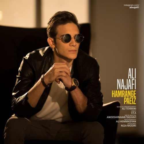دانلود آهنگ جدید علی نجفی بنام همرنگ پاییز
